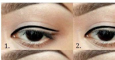 DIY: Winged-Eyeliner