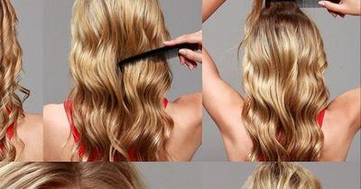 Eine besondere Frisur