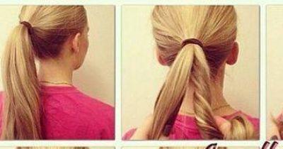 Die besondere 1 Minuten Frisur