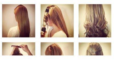 Eine traumhafte Frisur