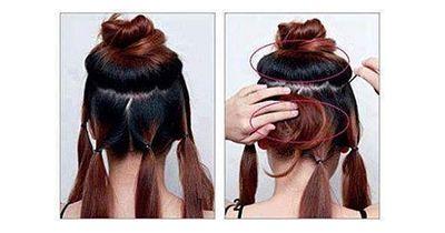 Die elegante Frisur auf die Schnelle