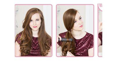 Traumhafte Frisur in nur 2 Minuten