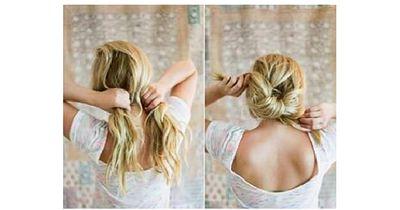 Wow, mit nur zwei Handgriffen zu dieser atemberaubenden Frisur!