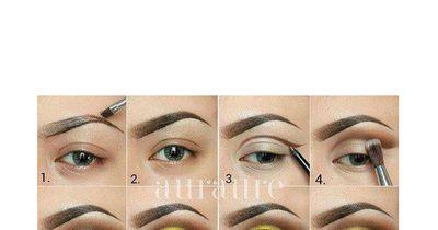 Strahlendes Make-Up