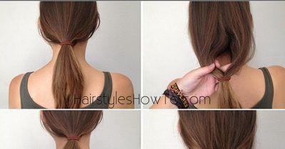 1-Minute-Frisur