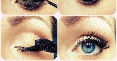 Sommerliches Augen-Make-Up