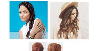 Frisuren, die bei Hitze helfen
