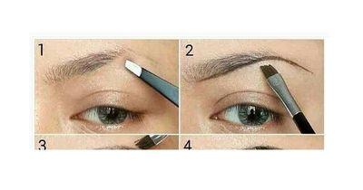 So formst du deine Augenbrauen natürlich