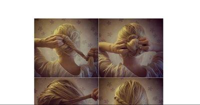 Die elegante Frisur in nur 1 Minute