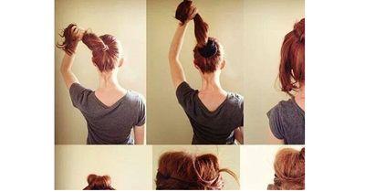 Entzückende Frisur