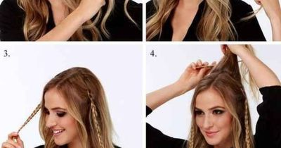 """Super elegante Trend-Frisur inspiriert von """"Game of Thrones"""""""