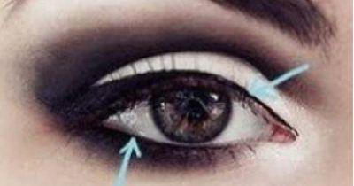 Verführerisches Augen-Makeup
