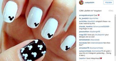 Süßes Disneydesign für eure Nägel