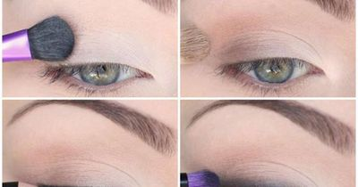 Dezentes Augen-Make-Up