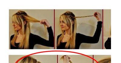 So peppst du deine Frisur in nur 1 Minute auf