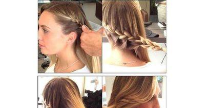 Die elegante, festliche Frisur, für die dich jeder beneiden wird
