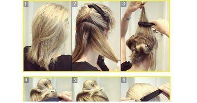Ganz einfach zur glanzvollen Frisur