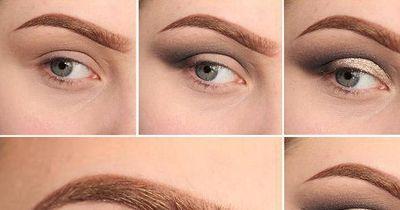 Dezentes Augen-Make-Up