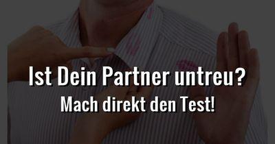 Ist Dein Partner untreu?