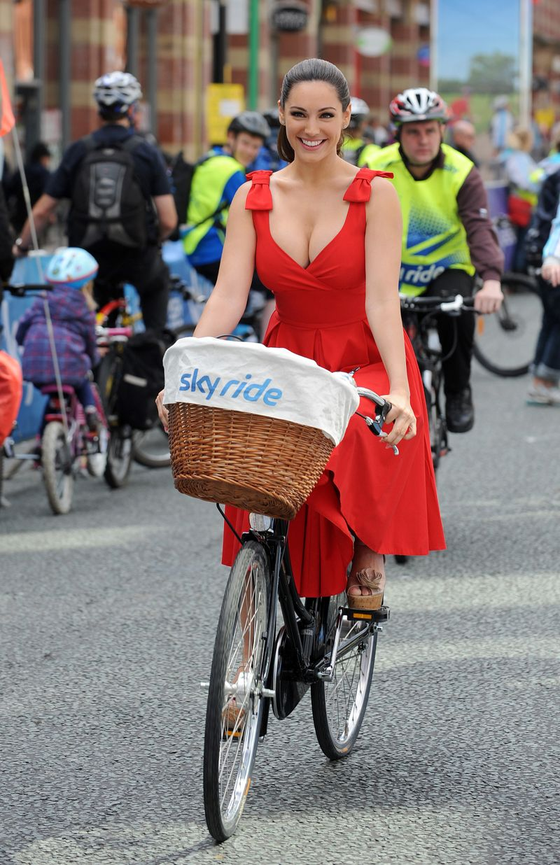 Fahrradfahren mit Rock oder Kleid