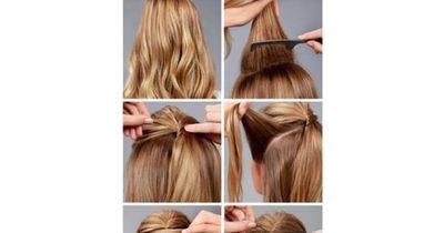 Die ganz spezielle, halboffene Frisur