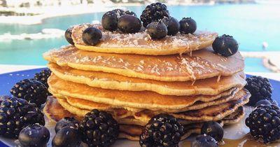 Das sind die leckersten Pancakes überhaupt.