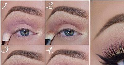 Auffälliges Augen-Make-Up