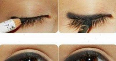 Glamouröses Make-Up in nur drei Minuten!