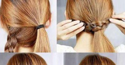 Die einfachste Frisur für den Alltag