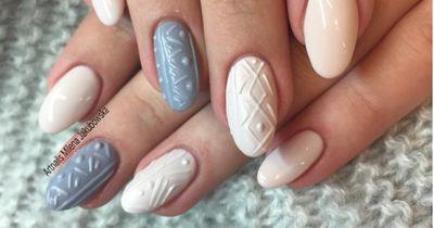 Knit Nails sind DER Nageltrend für den Herbst!