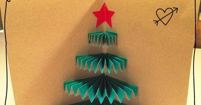 DIY: Weihnachtliche  Pop-up-Karte