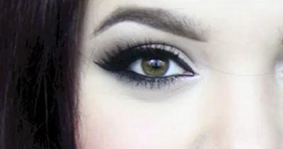 Winterliches Smokey Eye