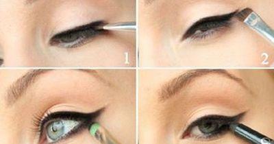 Elegantes Augen-Make-Up in nur wenigen Schritten nachgemacht