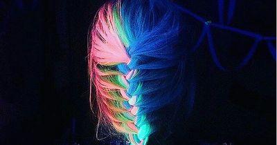 Haarfarben, die im Dunkeln leuchten?