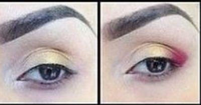 Glamouröses Augen-Makeup in zehn Minuten