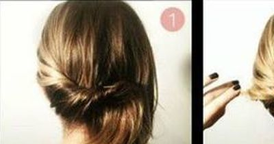 Die 1 Minuten Frisur!