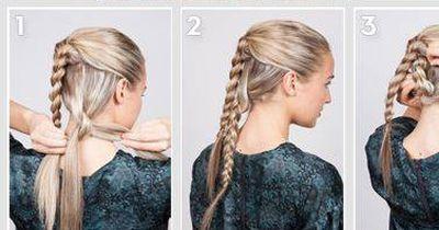 Braided Bun in nur 4 Schritten