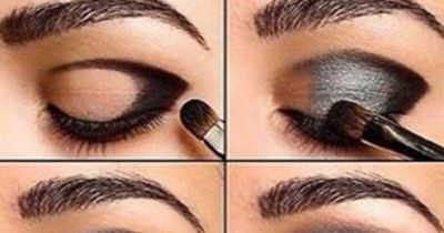 Smokey Eye in Silber