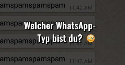 Welcher WhatsApp-Typ bist du?