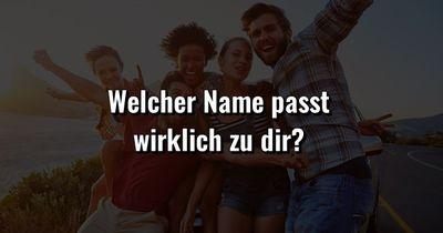 Quiz: Was ist dein wirklicher Vorname?