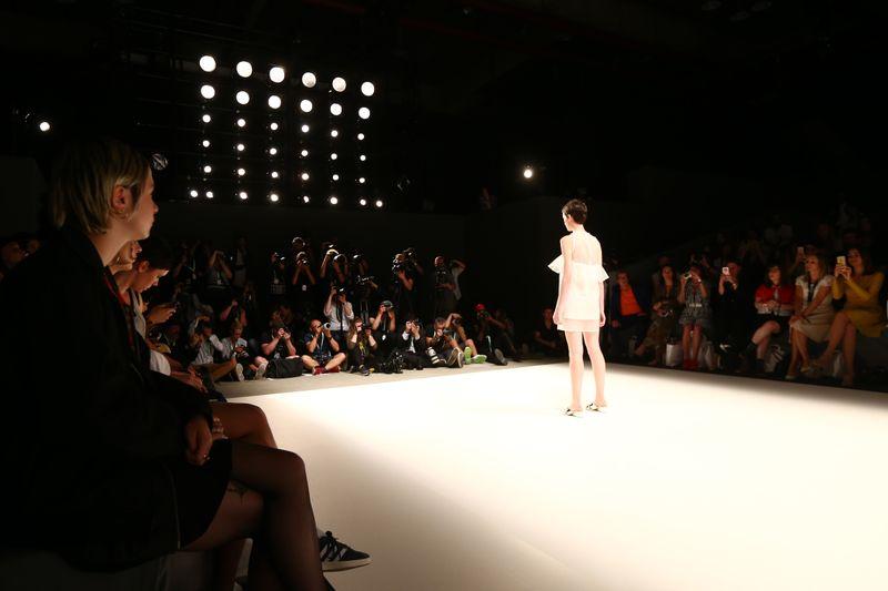 Stars bei der Fashion Week