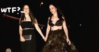 Super eklig - dieses Kleid ist aus Schamhaaren