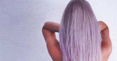 Dieser deutsche Star hat jetzt lila Haare