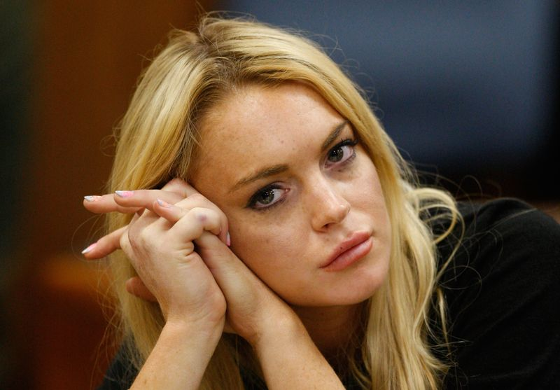 Schocknachricht von Skandalsternchen Lindsay Lohan