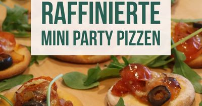 DIY: Einfache Mini-Pizzen