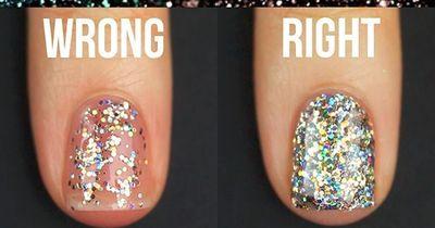 So lackierst du deine Nägel im Glitzer-Look richtig
