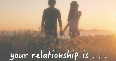 Welches Wort beschreibt deine Beziehung am ehesten?!
