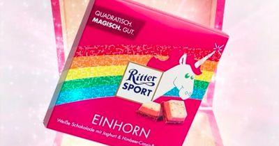 Die beste Erfindung seit es Schokolade gibt: Die Einhorn-Schokolade von Ritter Sport