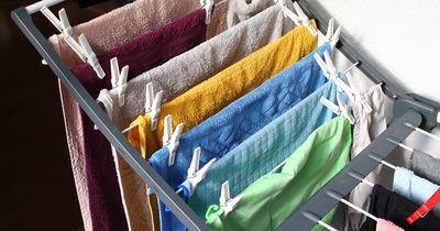 So vermeidest du Schimmel beim Wäschetrocknen