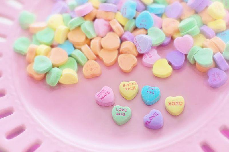 Bunte Süßigkeiten: Nicht vegetarisch